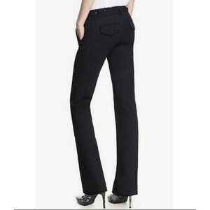 EXPRESS columnist Barely Boot Low Rise Dress Pants